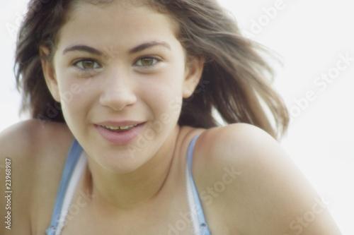 Fototapeta Portrait Of A Teen obraz na płótnie