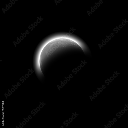 Fototapeta Abstract moon obraz na płótnie
