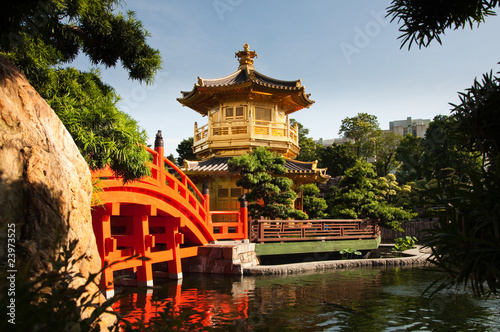 Spoed Foto op Canvas Hong-Kong The Pavilion of Absolute Perfection.
