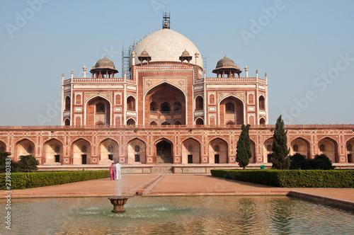 Fotobehang Delhi Humayun's Tomb