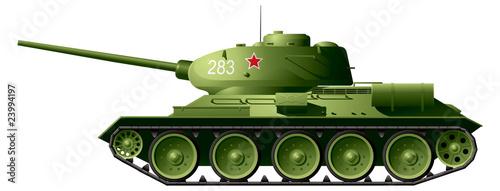 Photo  T34 tank