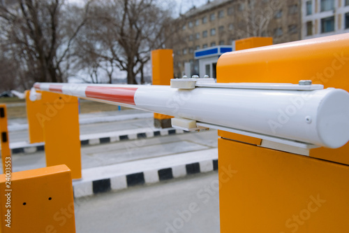 Photo Security barrier