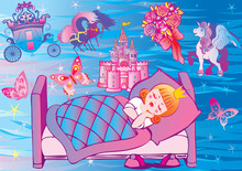 Dream Princess. Fairy-tale.