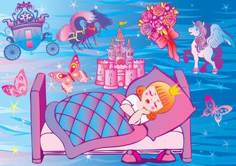 Princeza iz snova. Bajka.
