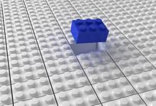 Lego Background Bw