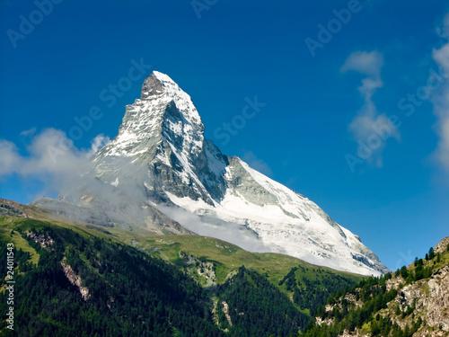 Valokuvatapetti Matterhorn in Switzerland Alps