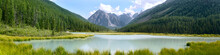 Panoramic Summer View Of Mount...
