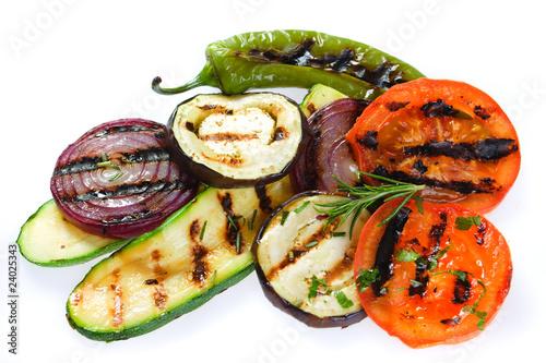 Fototapeta Grilled vegetable obraz