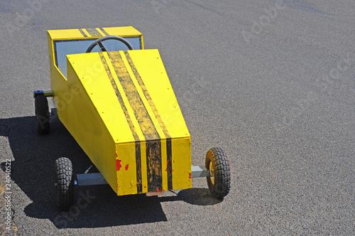 Fotografie, Obraz  Soapbox Derby Cart Racer
