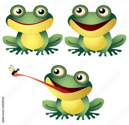 Keuken foto achterwand Sweet Monsters Frog