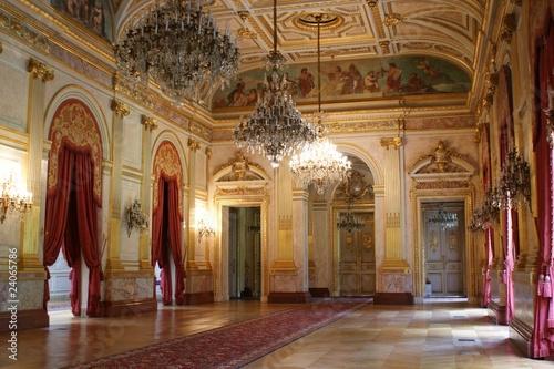 Fotografie, Obraz  Salle des Fêtes, Palais Bourbon, Paris, France