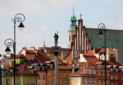 Fototapeta krajobraz   stare-miasto-w-warszawie
