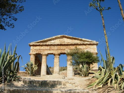 Obraz na plátně sicilia segesta