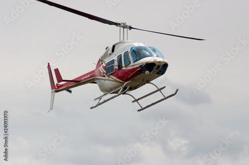 Poster Helicopter Longranger in Goroka