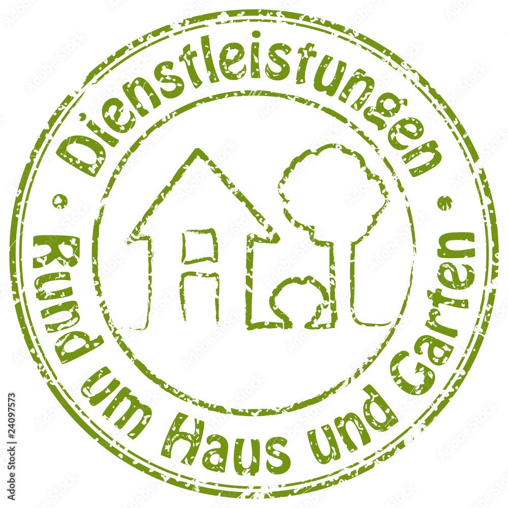 Photo Art Print Dienstleistungen Rund Um Haus Und Garten