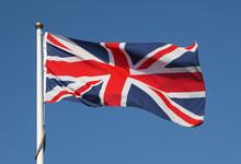 British Union Jack Flag Flying