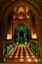 Interior Of Anglican Cathedral...