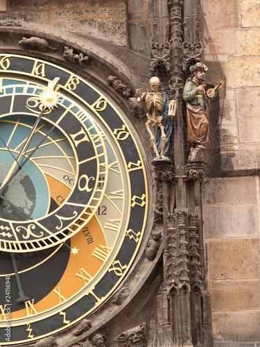 Photo Stands Prague The Astronomical Clock