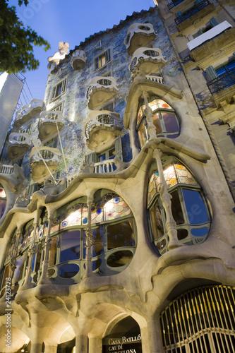 Papiers peints Barcelona Barcelona - casa Batllo from Gaudi