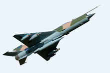 MIG 21 Aircraft - Isolated On ...