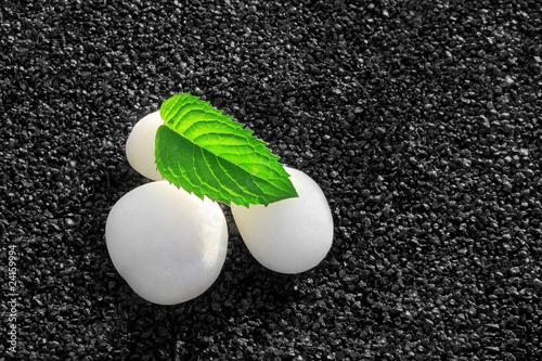 Photo sur Plexiglas Zen pierres a sable Beaute Naturelle