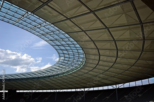 Berlin olympic stadium roof construction