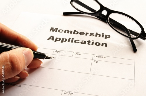 Fotografía  membership application