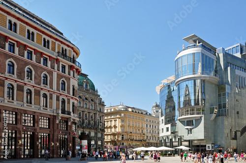 Spoed Fotobehang Wenen wien city