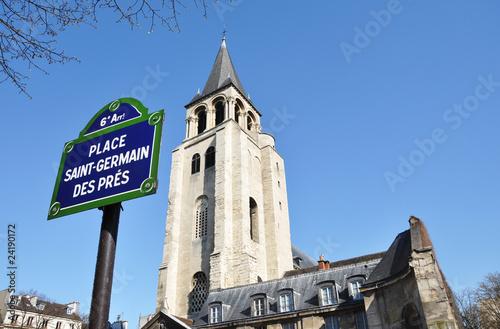 Place Saint-Germain des Prés Poster