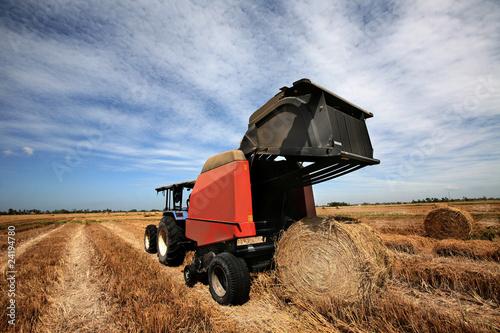 Photo Hay Harvest