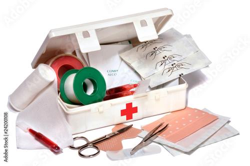Fotografia  trousse de premiers secours