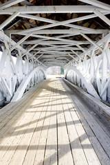FototapetaGroveton Covered Bridge (1852), New Hampshire, USA