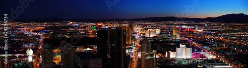 Las Vegas City skyline panorama #24236734