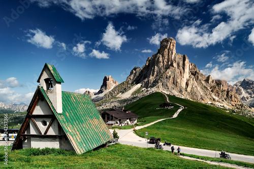 Fotografie, Obraz  La Gusella di Giau, Dolomiti Bellunesi