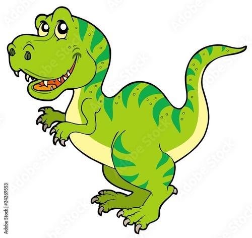 Keuken foto achterwand Dinosaurs Cartoon tyrannosaurus rex