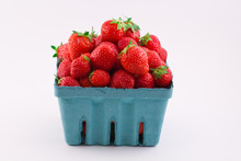 Fresh Isolated Red Strawberrie...