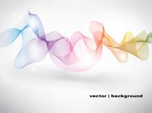 Wavy Rainbow Vector
