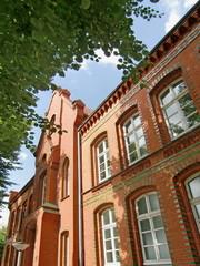Fototapeta na wymiar Rathaus Altenessen in ESSEN / Ruhrgebet
