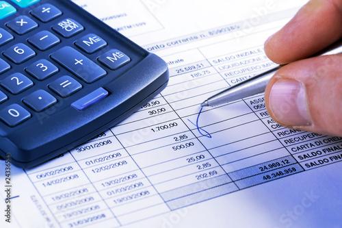 Fotografering  finanza, risparmio e credito
