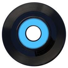 Disque Vinyl Microsillon 45 Tours, Fond Blanc