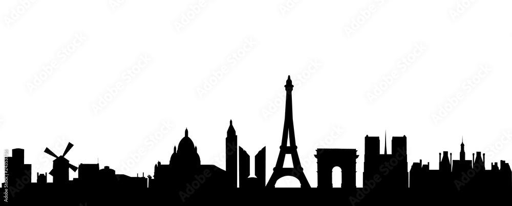 Fototapety, obrazy: Paris Skyline
