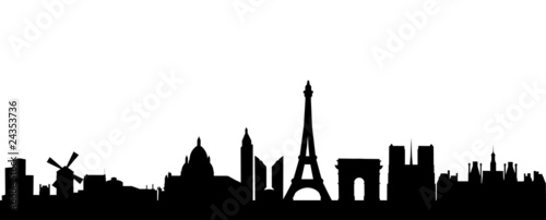 Paris Skyline - 24353736