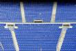 Asientos en esquina de estadio