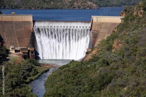 Foto op Canvas Zuid Afrika Damm am Blyde-River Canyon - Südafrika