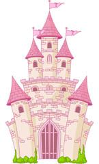 fototapeta zamek