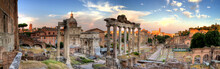 Rome Hdr Panoramic View