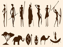 Silhouettes Africaines