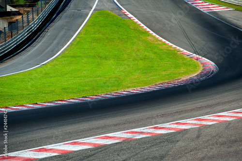 Photo sur Aluminium Motorise Rennstrecke