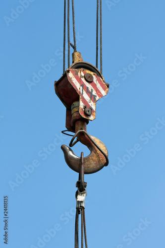 Keuken foto achterwand Schip Crane hook
