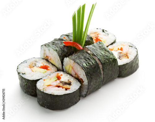 Foto op Canvas Sushi bar Japanese Cuisine - Sushi